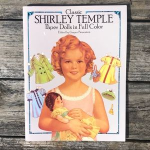 Shirley Temple Paper Dolls Book! NEW!